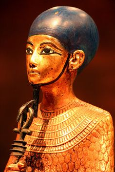 Tutanhamun's treasure ~ Statue of God Ptah