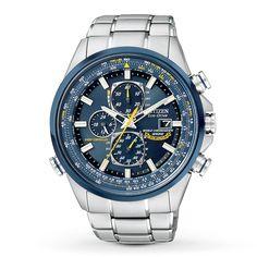 Men's Eco-Drive Blue Angels Chronograph Atomic Watch, from brand.Citizen Men's Eco-Drive Blue Angels Chronograph Atomic Watch, from brand. Citizen Eco, Blue Angels Watch, Cool Watches, Watches For Men, Ladies Watches, Cheap Watches, Stylish Watches, Atomic Watch, Atomic Time