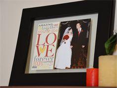 Wedding frame by Allison Davis