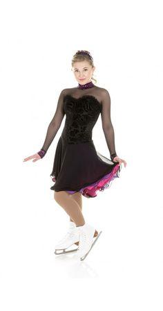 New Elite Xpression Figure Skating Dress Made on Order Ice Dance Dresses, Figure Skating Dresses, Designer Dresses, Skate, Ballet Skirt, Dress Designs, Ice Skating, Formal Dresses, How To Wear