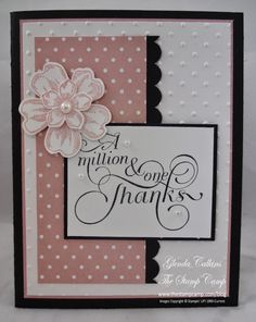 Try Stampin' On Tuesday: Challenge #165 - Bugs and Blossoms