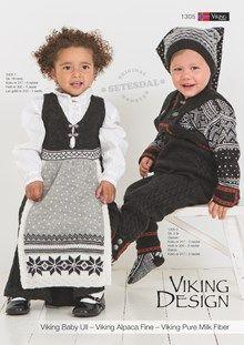 Viking of Norway babyull, norsk, svensk, english