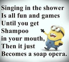 Singing in the Shower...