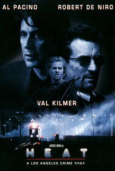 robert de niro movie posters | heat 1995 movie poster al pacino robert de niro 201x300 The Art of the ...