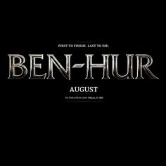 Coming to theaters August 2016! #BenHur
