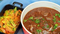 Foto: Tone Rieber-Mohn / NRK Thai Red Curry, Beef Recipes, Stew, Meal Planning, Nom Nom, Food Porn, Food And Drink, Yummy Food, Meals