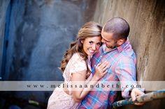 Beautiful Couple Engagement Photo ~ Kansas City Engagement Photographers Melissa & Beth