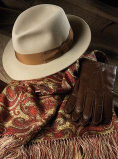 Barbisio Fur Felt Fedora in Beige Stylish Hats 9ccb420e3075