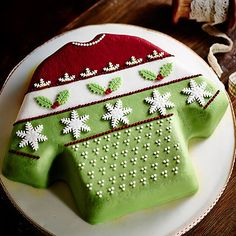 Gingerbread Christmas Jumper Cake - from Lakeland