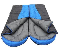 Generic Winter Waterproof Sleeping Bag 10 Degree Blue * Want additional info? Click on the image.