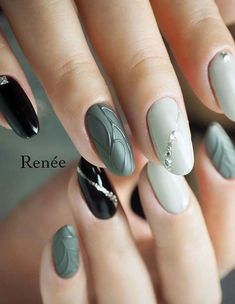 Beautiful Winter Nail Colors 2018