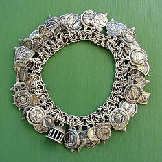 My Vintage Bates and Klinke Charm Bracelet Collection - www.charmchatter.com