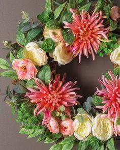 Our Fuji Mums Wreath