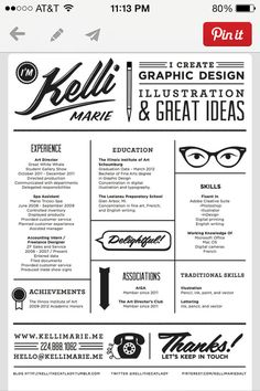 19 Awesome Resumes images | Sample resume, Photographer ...
