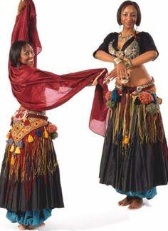 Folkwear 144 Tribal Style Belly Dancer Choli Pantaloons Sewing Costume Pattern   eBay