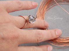 #wiregalaxy #wirewrap #rings #copper #jewelry