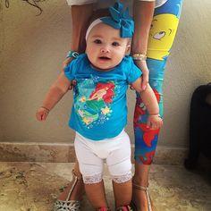 cute little mermaid outfit via @babyellestyle