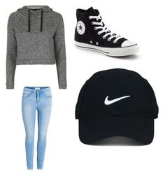 """""""Untitled #292"""" by jamiesowers14 on Polyvore featuring Topshop, Converse, Nike Golf, men's fashion and menswear"""