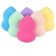 Profesional pro fundación del maquillaje esponja cosmética flawless powder smooth beauty blender foundation puff esponjas de mezcla de huevo