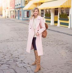 ShopStyle Look by AshleyBrookeDesigns featuring Club Monaco Daylina Coat and Cuyana Leather Backpack Fashion Over, Spring Fashion, Fashion Looks, Style Fashion, Fashion Outfits, Designer Backpack Purse, Ashley Brooke Designs, Best Travel Backpack, Cool Backpacks