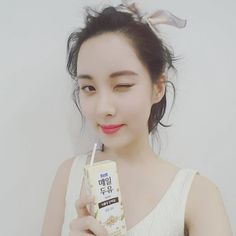 See the cute selfie from SNSD SeoHyun