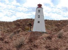 The Sandy Hook lighthouse replica is on Lake Havasu, in AZ but the original is in New Jersey http://ourtravelingblog.com/2015/10/26/lake-havasu-lighthouse-replicas-part-3/
