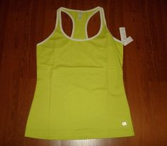 Gap Fit Racerback Exercise Tank Limeade