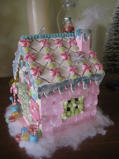The candy man's gingerbread house