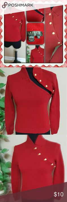 """❤❤❤Ralph Lauren Sweater❤❤❤ ❤Lightly worn / Has been cleaned ❤No holes or stains ❤Measurements ❤Bust 34"""" - 36"""" inch / 86 - 94 cm ❤Waist 26"""" - 28"""" inch / 64 - 67 cm ❤Hips 36"""" - 38"""" inch / 91 - 99 cm ❤Beautiful sweater great condition ever different Ralph Lauren Sweaters"""