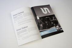 Union Newsletter by Scott Schermer, via Behance