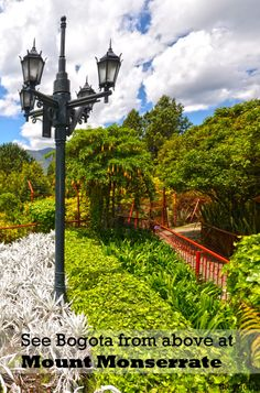 See Bogota From Above for a romantic viewpoint