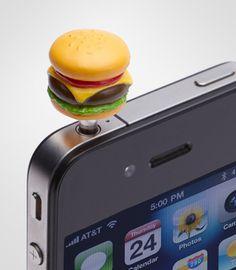 f8b530d98a Yum-Yum Burger Phoney Phone Charm