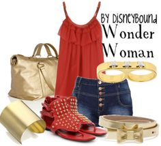wonder woman inspired oh yeah!