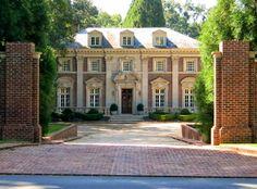 Willis Jones House, 520 West Paces Ferry Road, Atlanta, Georgia. Architect: Neel Reid,   1922.