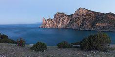 "Panorama of rocky coastline of ""Novyi Svet"" recreation area by nickolay_khoroshkov, via Flickr"