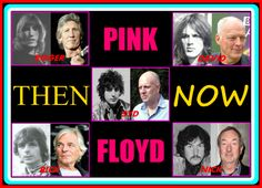 DeviantArt: More Like PINK FLOYD - Then And Now by SyddyGurl
