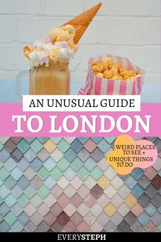There's more to London than Notting Hill and Buckingham Palace. If you're looking for unusual things to do in London, you've come to the right place: check out this London off the beaten path guide wi Europe Destinations, Europe Travel Guide, Holiday Destinations, Travel Guides, Buckingham Palace, Secrets Of London, London Attractions, London Restaurants, Things To Do In London