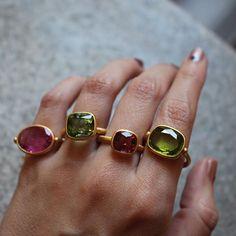Marie-Hélène de Taillac rings
