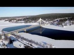 Photo: Rovaniemi City Center by air - Rovaniemi Lapland's capital in Finland - Finnish Lapland winter photo - Town of Arctic Circle Lappland, Santa Claus Village, Lapland Finland, Photos Voyages, Arctic Circle, Travel Videos, Helsinki, Where To Go, Exterior