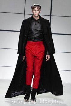 Xander Zhou Menswear Fall Winter 2013 London