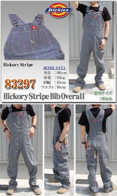 Dickies Hickory Overall.
