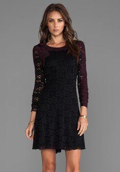 Secret Mementos Dress in Black