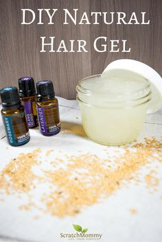 DIY Natural Hair Gel Recipe | Scratch Mommy
