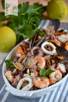fish-recipes All About Cooking, Recipes, Delicious Fish Recipes, Seafood Recipes, Cooking Recipes, Healthy Recipes, Seafood Salad, Fish Salad, Fish Dishes, Seafood Dishes, Antipasto