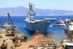 Decommissioned ... HMS Ark Royal was axed amid government spending review