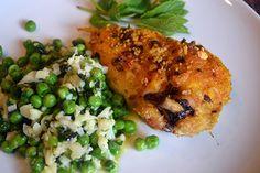 Light Mustard Chicken with Cauliflower Rice Recipe