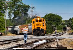 RailPictures.Net Photo: PICK 9500 Pickens Railroad GE U18B at Anderson, South Carolina by Kyle Yunker