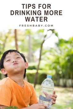 If your child is very active or you live in a hot climate, the need for water is greater. The American Journal of Clinical Nutrition reports that a study conducted between 2005 and 2006 found that as few as 10% of girls and 15% of boys were drinking the recommended amount of water each day. The study also concluded that high-sugar beverages were consumed more than water, especially at meal time. How can you get more water in your child's diet?