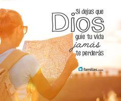 Deja que Dios sea tu guía