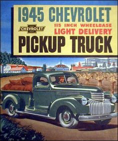 1945 Light duty Chevrolet Farm Truck